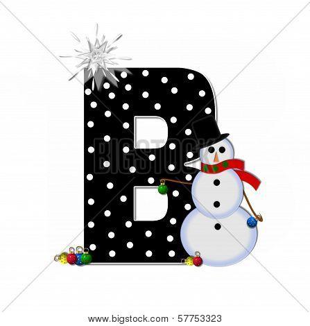 Alphabet Frosty B