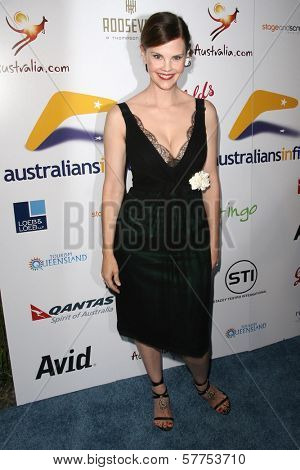 Kiersten Warren at the Australians In Film 2009 Breakthrough Awards. Hollywood Roosevelt Hotel, Hollywood, CA. 05-08-09