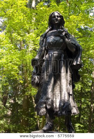 Statue of Mary Jemison the