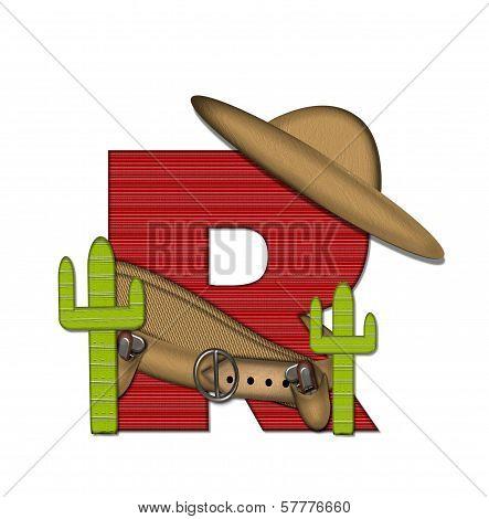 Alphabet Bandido R