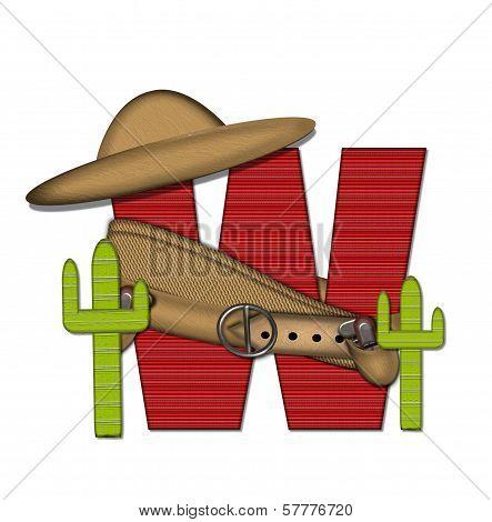 Alphabet Bandido W