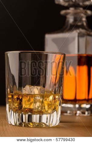 Whisky Glass With Carafe