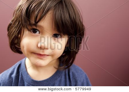 Cute Toddler Boy