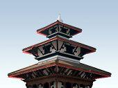 durbar square - kathmandu, nepal poster