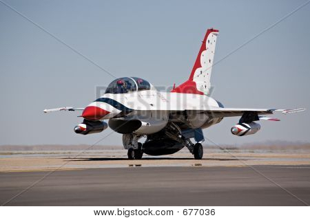 F15 Taxi For Takeoff