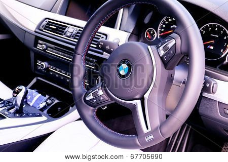 BMW F10 interior