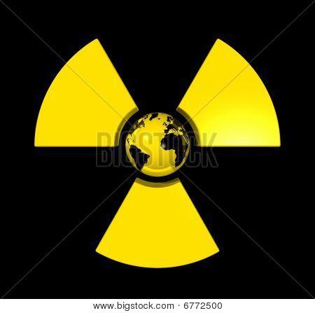 Radioactive World Globe