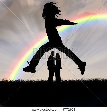 Jumps And Rainbow