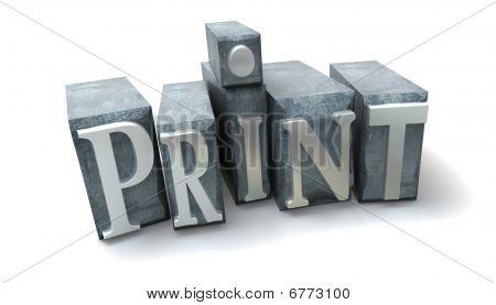 Print-Blöcke