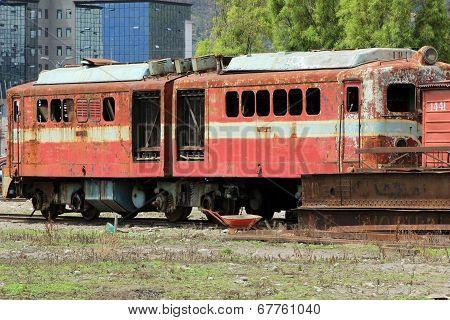 Broken Down Train