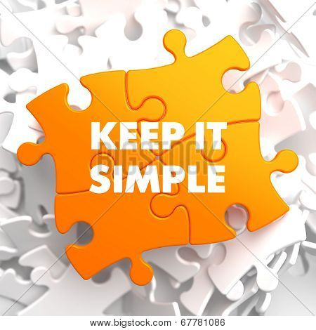 Keep it Simple on Yellow Puzzle.