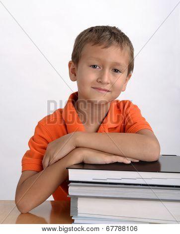 Boy student portrait
