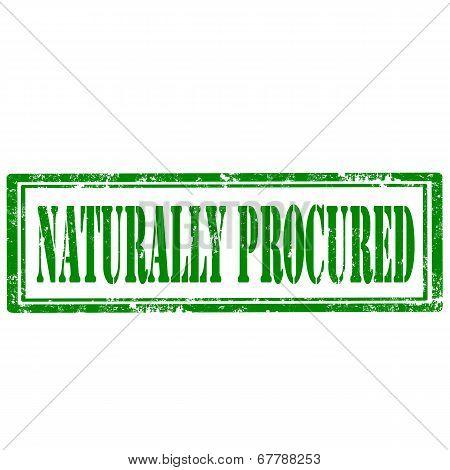 Naturally Procured-stamp