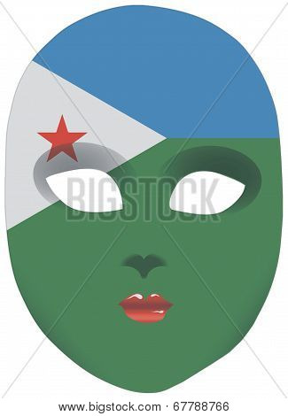 Djibouti Mask