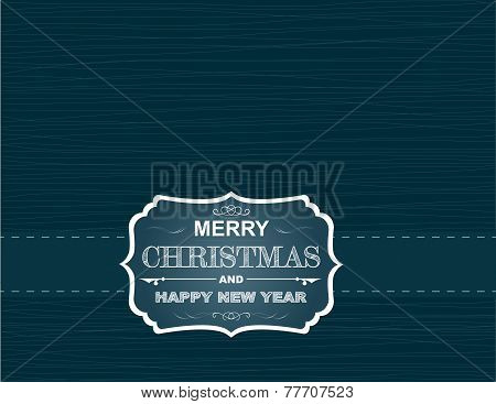 Cristmas And New Year Card