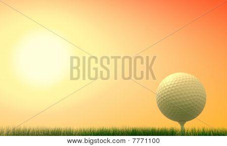 Golf Match At Subset
