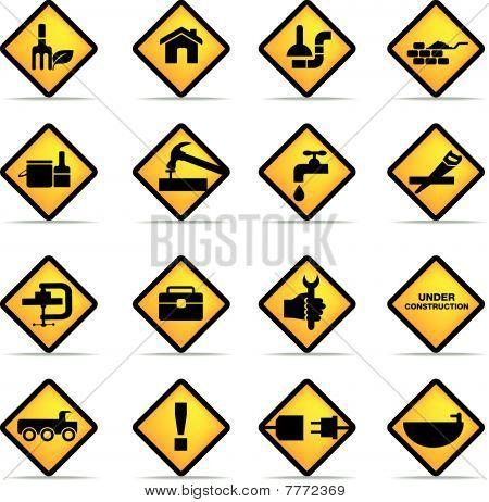 Construction Yellow.
