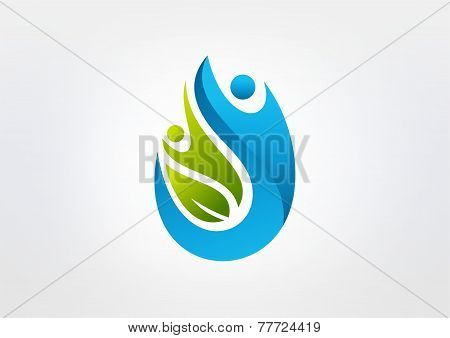 body,healthy,wellness,nutrition,water drop,energy,logo,icon