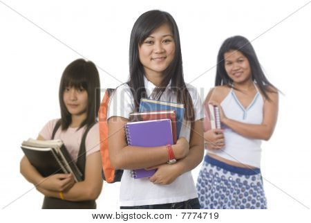 Student With Classmates