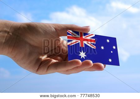 Small Flag Of Australia