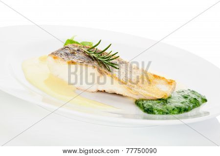 Delicious Fish Eating.