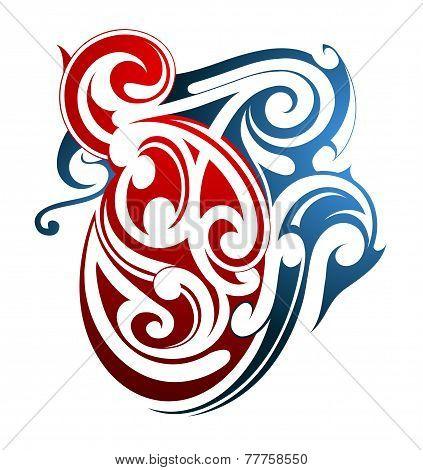Maori Tattoo Shape