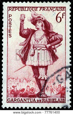 Gargantua Stamp