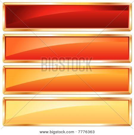 Golden Frame Hot