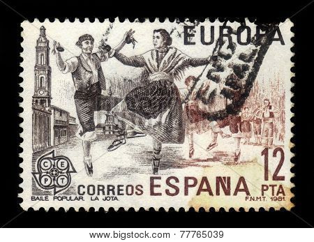 La Jota - Spanish Folk Dance From Aragon, Spain