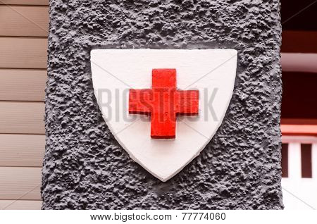 Red Cross Medical Sign