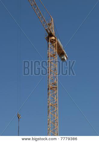 Blue Sky Crane