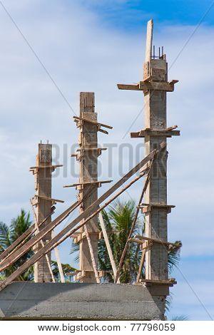 Home Foundation Concrete Pole