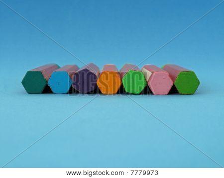 Oil pastel crayons