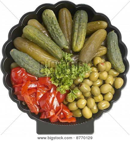 Assorted Pickled Appetizer