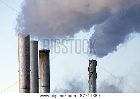 Pollution Discharge Industry