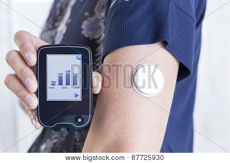 Holding Reader And Placed Sensor.