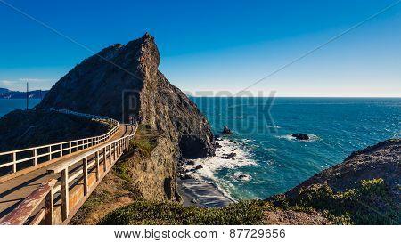 Bridge Trail To Point Bonita Lighthouse