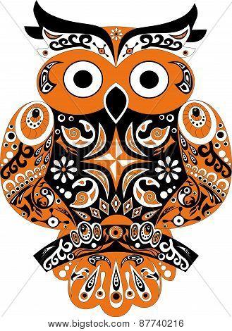 Owl, bird, sova