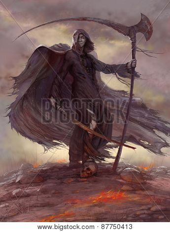Horseman Of The Apocalypse, Scytheman