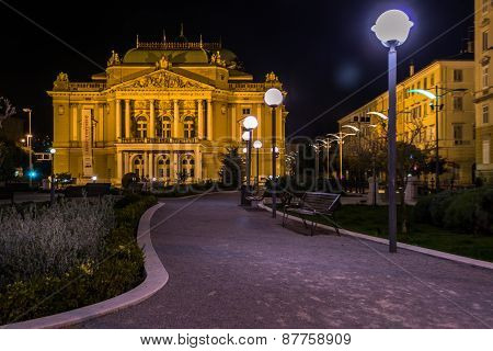 Theater at Night