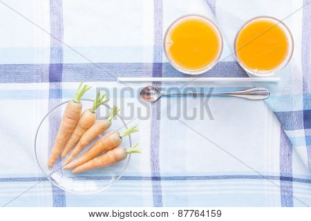 Carot Juice And Raw Material