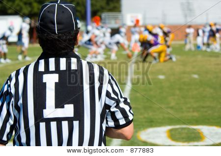 American Football Game Official -Referee