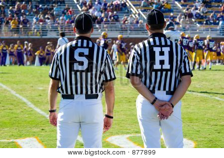 Referee - American Football Game Official -Referees