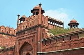 Red Fort (Lal Qila). World Heritage Site. Delhi, India poster