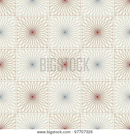 Spirograph seamless pattern