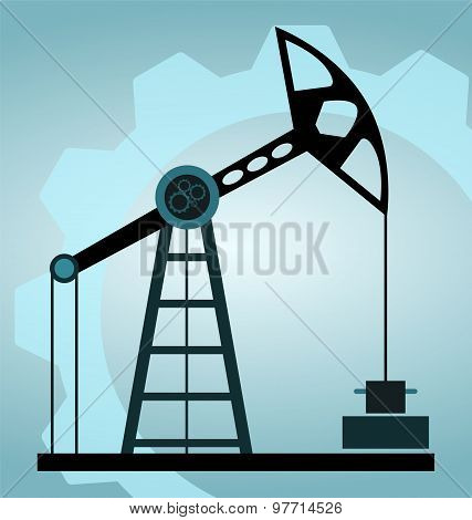 Silhouette Oil Pump