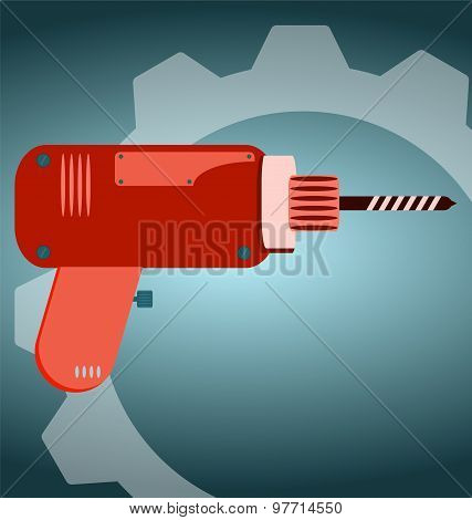 Cordless Screwdriver With Auger