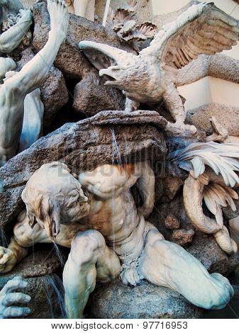 Power On Land Fountain, Vienna