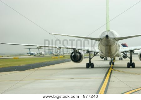Planes Under Wing