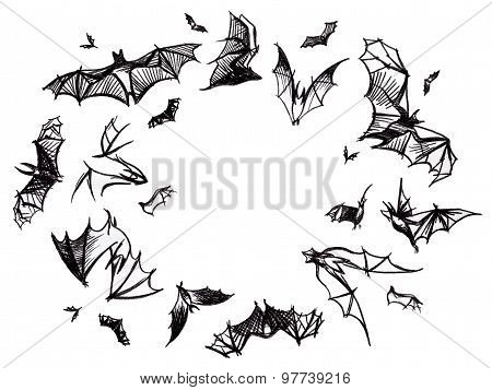 Flying isolated bats